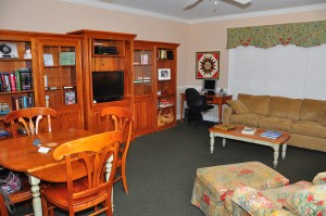 Living Room of Hospice House.