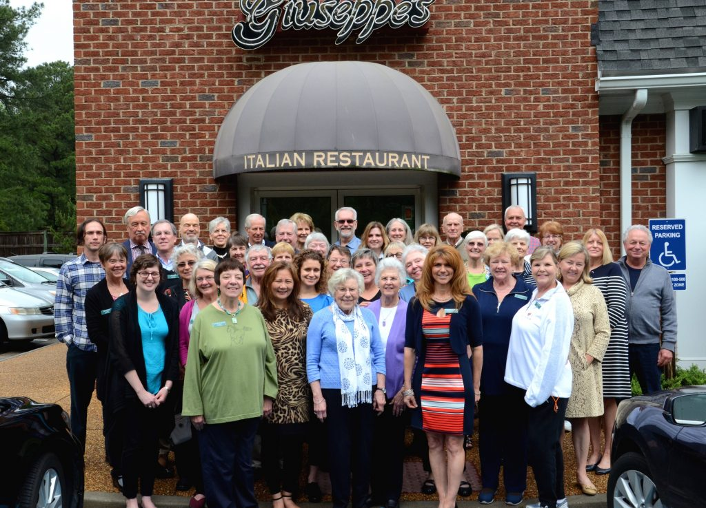 Patient Volunteers recognized at award luncheon hosted by Giuseppe's Italian Cafe