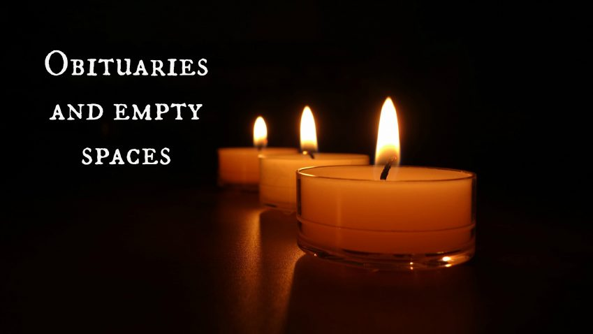 obituaries blog