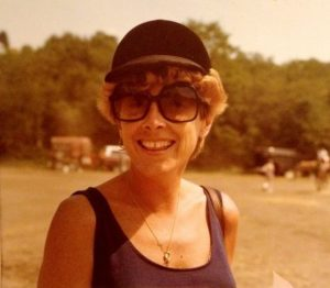 A photo of my mom.